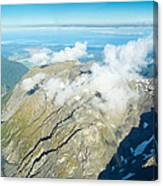 View On To Fox Glacier In South New Zealand Canvas Print
