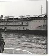Vintage Boat Canvas Print