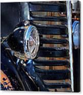 Vintage Car Grill Canvas Print