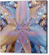 Vintage Lily Canvas Print