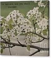 Vintage Spring Canvas Print