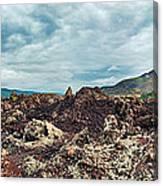 Volcano Batur Canvas Print
