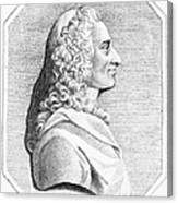 Voltaire (1694-1779) Canvas Print