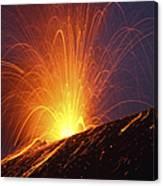 Vulcanian Eruption Of Anak Krakatau Canvas Print