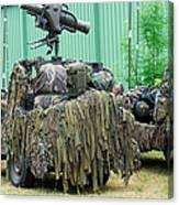 Vw Iltis Jeeps Of A Recce Scout Unit Canvas Print