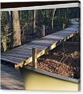 Walk Bridge Canvas Print