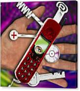 Wap Mobile Telephone Canvas Print