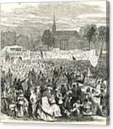 Washington: Abolition, 1866 Canvas Print