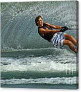 Water Skiing Magic Of Water 28 Canvas Print