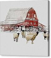 Weatherbury Farm Canvas Print