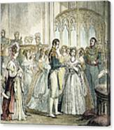 Wedding Of Queen Victoria Canvas Print
