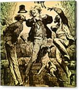 Weightlessness, 19th Century Canvas Print