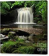 West Burton Falls In Wensleydale Canvas Print