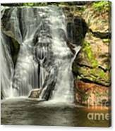 Widows Creek Falls Canvas Print
