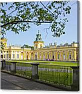 Wilanow Palace - Warsaw Canvas Print