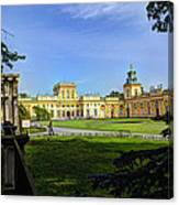 Wilanow Palace - Warsaw Poland Canvas Print