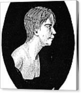 Wild Boy Of Aveyron Canvas Print