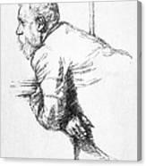 William Ernest Henley Canvas Print