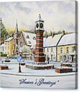 Winter In Twyn Square Canvas Print