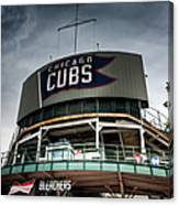 Wrigley Field Bleachers Canvas Print