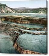 Yellowstone: Hot Spring Canvas Print