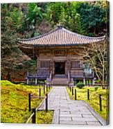 Zen Garden At A Sunny Day Canvas Print