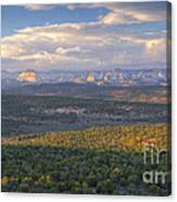 Zion Distant Canvas Print