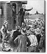 Andrew Johnson (1808-1875) Canvas Print