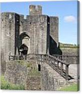 Caerphilly Castle Canvas Print