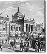 Centennial Fair, 1876 Canvas Print
