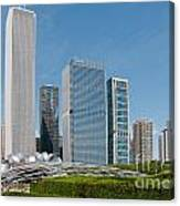 Chicago City Scenes Canvas Print