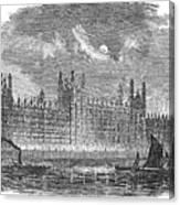 Great Britain: Parliament Canvas Print