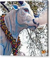 Rex Mardi Gras Parade Canvas Print