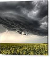 Storm Clouds Saskatchewan Canvas Print
