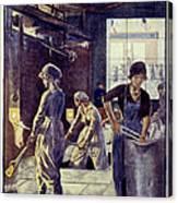 World War I: U.s. Poster Canvas Print