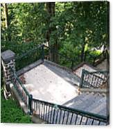 100 Steps At The Wissahickon Canvas Print