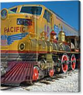 100 Years Of Union Pacific Railroading Canvas Print