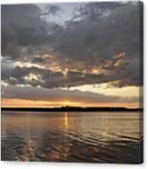 10000 Islands Sunset Canvas Print