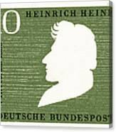 Heinrich Heine (1797-1856) Canvas Print