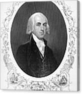 James Madison (1751-1836) Canvas Print