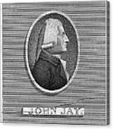 John Jay (1745-1829) Canvas Print