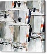 11 Moka Canvas Print