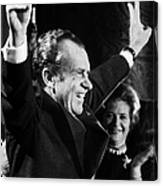 Richard Nixon (1913-1994) Canvas Print