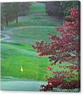 11th Hole At Clarksville C C Canvas Print