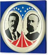 Presidential Campaign: 1904 Canvas Print