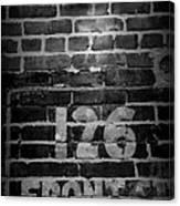 126 Front Street Canvas Print