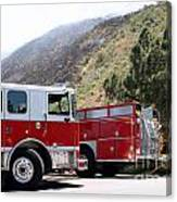 Barnett Fire Canvas Print