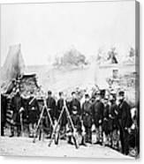 Civil War: Soldiers Canvas Print