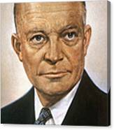 Dwight D. Eisenhower Canvas Print