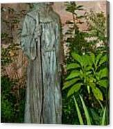 Gardens In Carmel Monastery Canvas Print